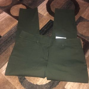 BRAND NEW Loft army green dress pants!